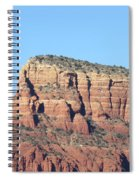 Sedona  Arizona  Mountain  Three Spiral Notebook