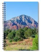 Sedona Mountains 15 Spiral Notebook