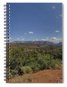 Sedona Panorama In 5 Pictures Spiral Notebook