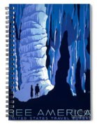 See America 1937 Spiral Notebook