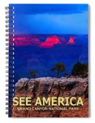 See America - Grand Canyon National Park Spiral Notebook