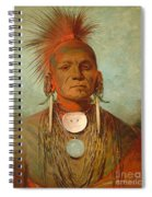 See Non Ty A An Iowa Medicine Man Spiral Notebook