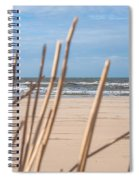 See Through On The Dutch Beach Spiral Notebook