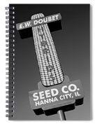 Seed Company Sign 1.1 Spiral Notebook