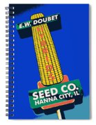 Seed Company Sign 1.3 Spiral Notebook