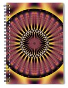Seed Of Life Kaleidoscope Spiral Notebook