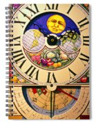 Seed Planting Clock Spiral Notebook
