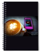 Seeing Double Latte Spiral Notebook
