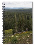 Seeing Forever - Yellowstone Spiral Notebook