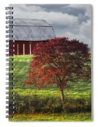 Seeing Red Spiral Notebook