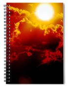Seeing Red Spiral Notebook