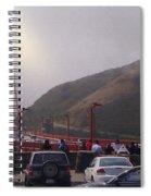 Seeing The Golden Gate Spiral Notebook