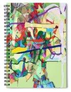 Seeker Being Sought 1d Spiral Notebook