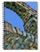 Segovia Aqueduct Arch By Diana Sainz Spiral Notebook