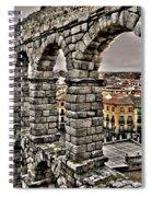 Segovia Aqueduct - Spain Spiral Notebook