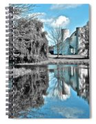 Selective Color Fall Day Spiral Notebook