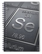 Selenium Chemical Element Spiral Notebook