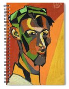Self Portrait, 1913 Spiral Notebook
