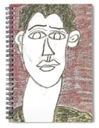 Self-portrait As A Young Man Spiral Notebook