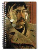 Self Portrait, C.1865 Panel Spiral Notebook