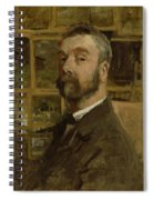Self Portrait, C.1884 Spiral Notebook