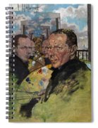 Self Portrait, C.1924 Spiral Notebook