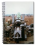 Self-propelled 8 Inch Howitzer M110 Lz Oasis R V N 1968 Spiral Notebook