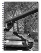Self Propelled Gun Spiral Notebook