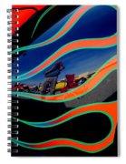 Self Shot Spiral Notebook