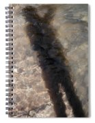 Selfportrait Of A Shadow Spiral Notebook