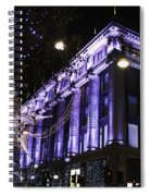 Selfridges London At Christmas Time Spiral Notebook