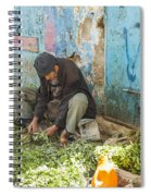 Selling Herbs In The Souk Spiral Notebook