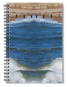 Selsey Mirrored Spiral Notebook