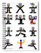 Semaphore Spiral Notebook