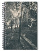 Sending Light And Warmth To You Spiral Notebook
