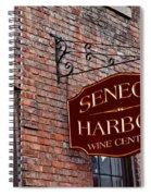 Seneca Harbor Wine Center Spiral Notebook