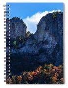 Seneca Rocks Spiral Notebook