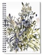 Senecio And Other Plants Spiral Notebook