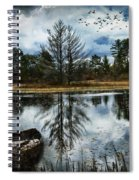 Seney And The Rowboat Spiral Notebook