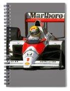 Senna '89 Spiral Notebook