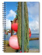 Sennen Cove Buoys Spiral Notebook