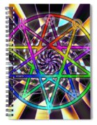 Sense Creation Five Spiral Notebook