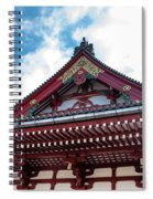 Sensoji Temple Spiral Notebook