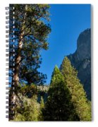 Sentinel Dome, Yosemite Np Spiral Notebook
