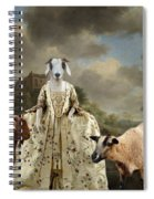 Separating The Sheep From The Goats Spiral Notebook