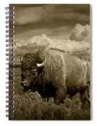 King Of The Herd Spiral Notebook