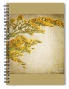 Sepia Gold Spiral Notebook
