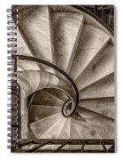 Sepia Spiral Staircase Spiral Notebook