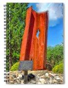 September 11th Memorial Mantua N J Spiral Notebook