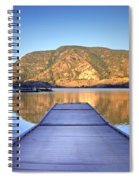 September 1st At Skaha Lake Spiral Notebook